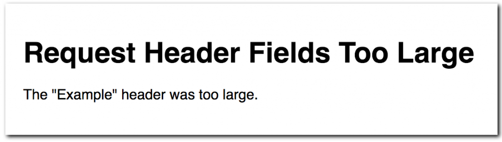 431-Request-Header-Fields-Too-Large